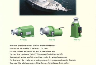 Artikel BATTERY WINCH MARINE